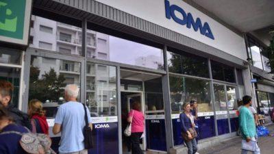 Estatales exigen que IOMA garantice el acceso a la salud