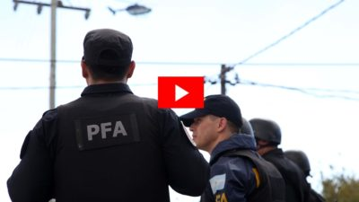 """La Plata / realizan el """"mayor operativo contra la delincuencia y el narcotráfico de la historia"""""""
