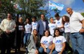 """La Plata / Garro homenajeó a los ex combatientes """"nos enorgullece y emociona homenajear a quienes defendieron nuestra soberanía"""""""