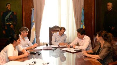 La Plata / Garro prometió la construcción e intervención de escuelas con el Fondo Educativo 2018