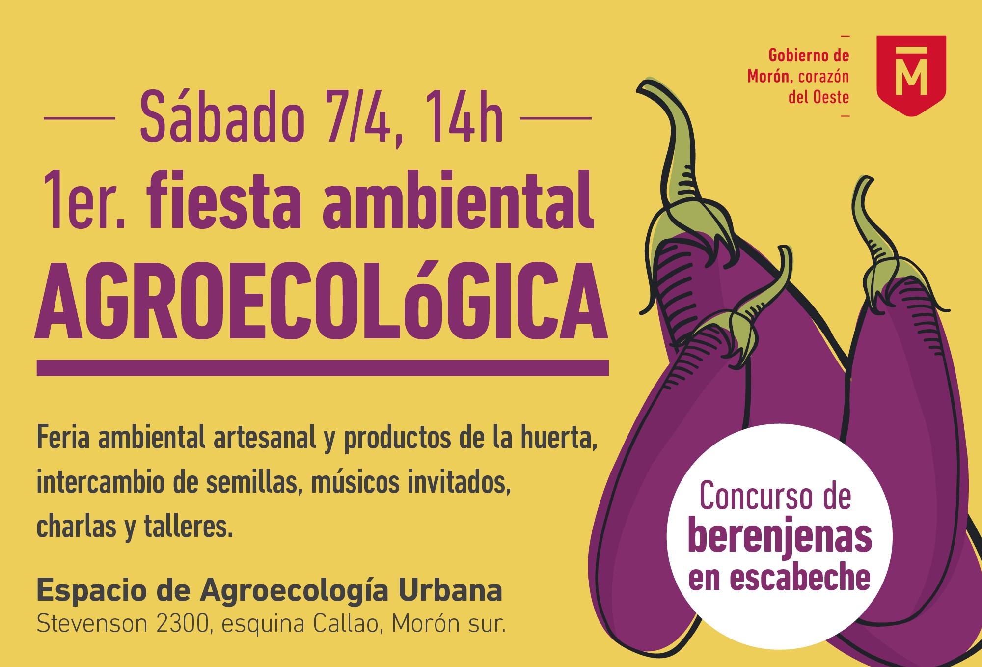 Se llevará a cabo un festival ambiental agroecológico en Morón