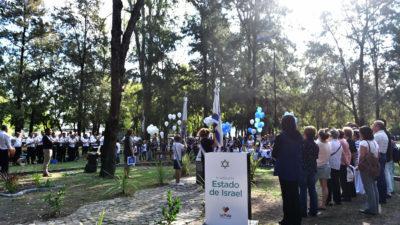 Se realizó un acto en La Plata por el 70º aniversario de la independencia israelita