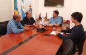 El intendente de La Costa y el Rotary Club buscan construir sillas anfibias para personas con discapacidad motriz