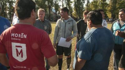 Históricas figuras del fútbol argentino darán charlas de formación en Morón