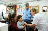 Hurlingham puso en marcha una Campaña de Vacunación en todos los jardines y escuelas del distrito