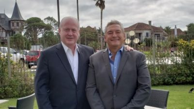 """Jorge D'onofrio en Uruguay: """"Hay que unificar América Latina para luchar contra el crimen organizado"""""""