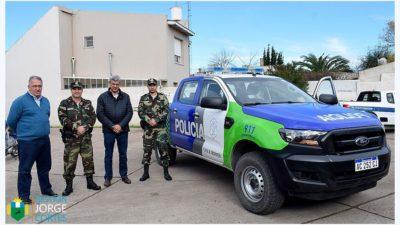 Hipólito Yrigoyen sumó un nuevo móvil para la Patrulla Rural