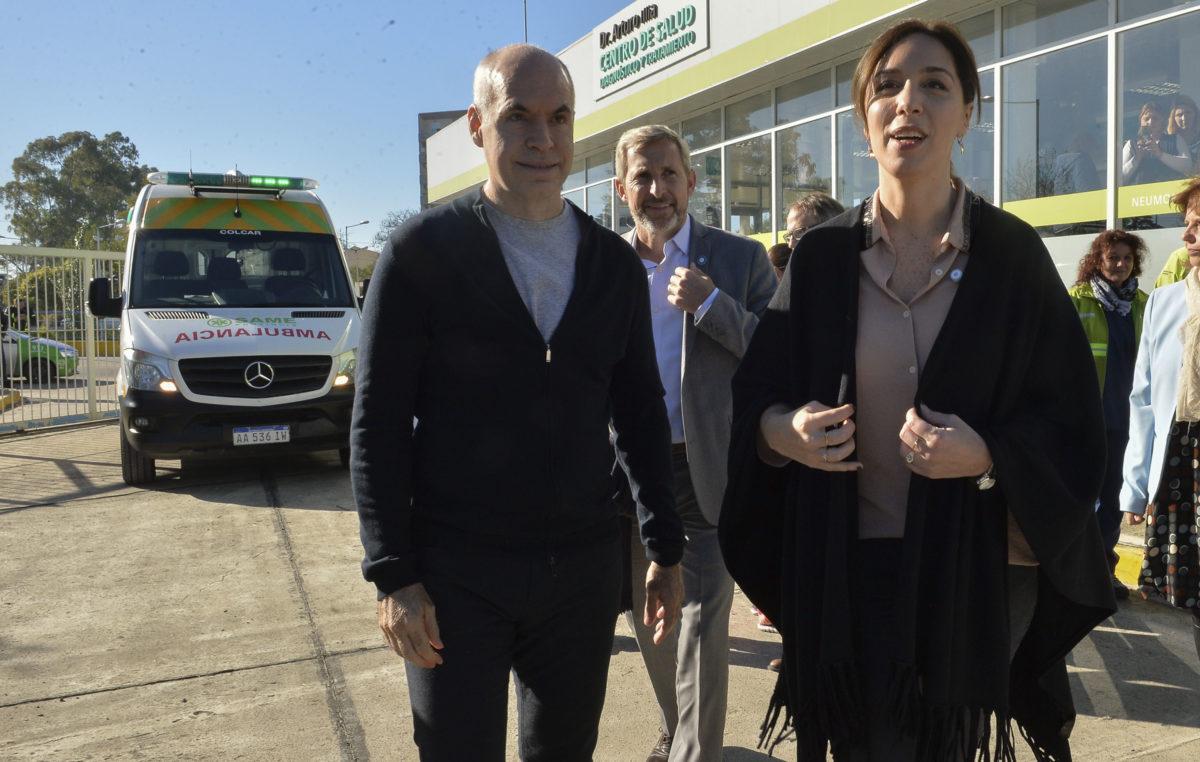Vidal, Larreta, Frigerio y Valenzuela presentaron la Red Pública de Atención Primaria de Salud AMBA