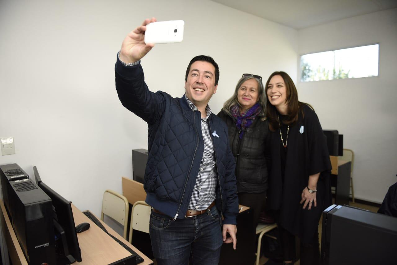"""Nardini recibió en Malvinas Argentinas a la gobernadora Vidal y le pidió """"más apoyo"""" en Seguridad"""