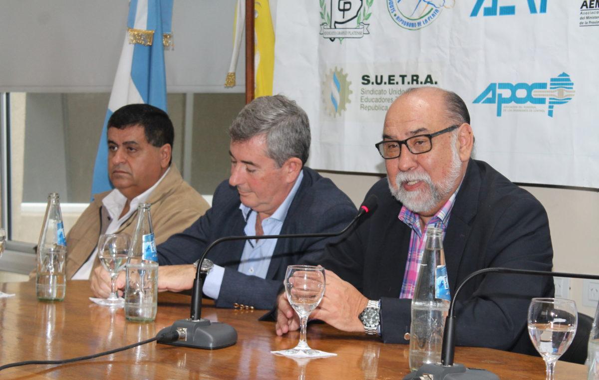 Julio Castro reasumió al frente de la FEGEPPBA