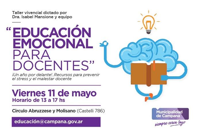 La actividad gratuita será el próximo 11 de mayo
