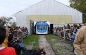 Con gran emoción, miles de mercedinos festejaron la vuelta del tren a La Trocha