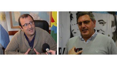 Daletto y Abarca se sacaron chipas por el proyecto de Vidal de derogar las tasas municipales en la tarifa de luz