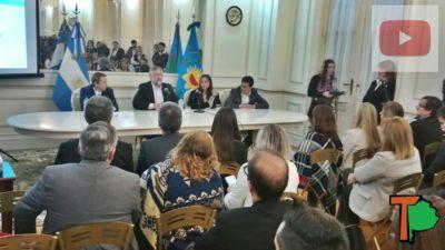 """El ministro Villegas presentó en el senado el proyecto #FuturoBonaerense y aseguró que """"hay cada vez menos trabajo repetitivo y más trabajo cognitivo"""""""