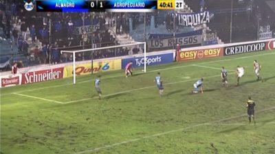 Agropecuario de Carlos Casares le ganó a Almagro y sueña con el ascenso a Primera
