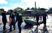 La Plata / Después del diluvio, la Municipalidad asiste a los vecinos inundados
