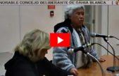 Una jubilada les dio un cachetazo de realidad a los concejales de Bahía Blanca: Mirá el video