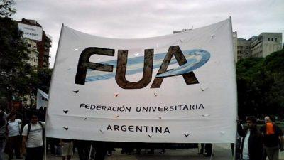 """La FUA le respondió a Vidal: """"La Universidad es una herramienta de inclusión y transformación social"""""""