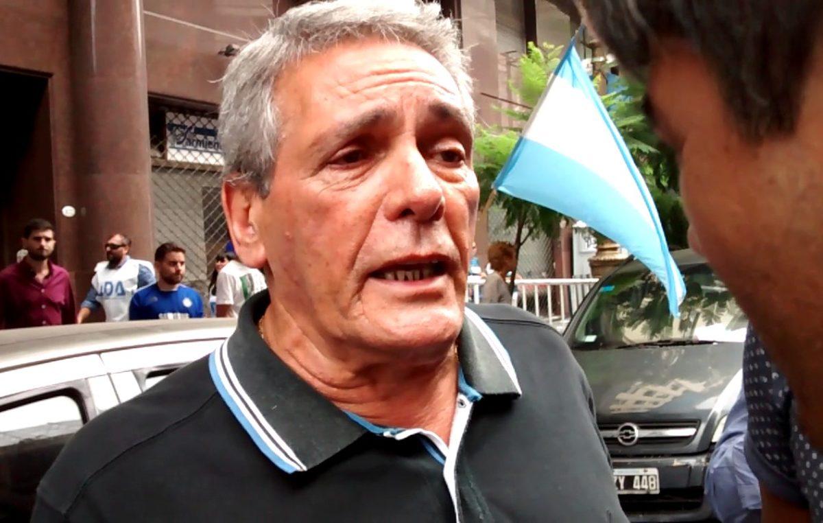 """Acuña contra el tarifazo: """"Si el gobierno veta la ley la CGT debe llamar a un paro nacional"""""""