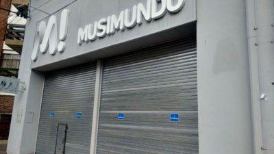 La cadena Musimundo cerró sucursales en seis localidades bonaerenses