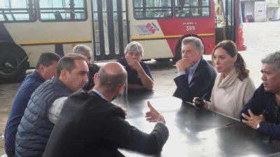 Morón / Tagliaferro anunció nuevas obras en el metrobús junto a Macri y Vidal