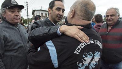 """Morón / Tagliaferro rindió homenaje a los tripulantes del General Belgrano: """"Hay que recordarlos para ganar la batalla del olvido"""""""