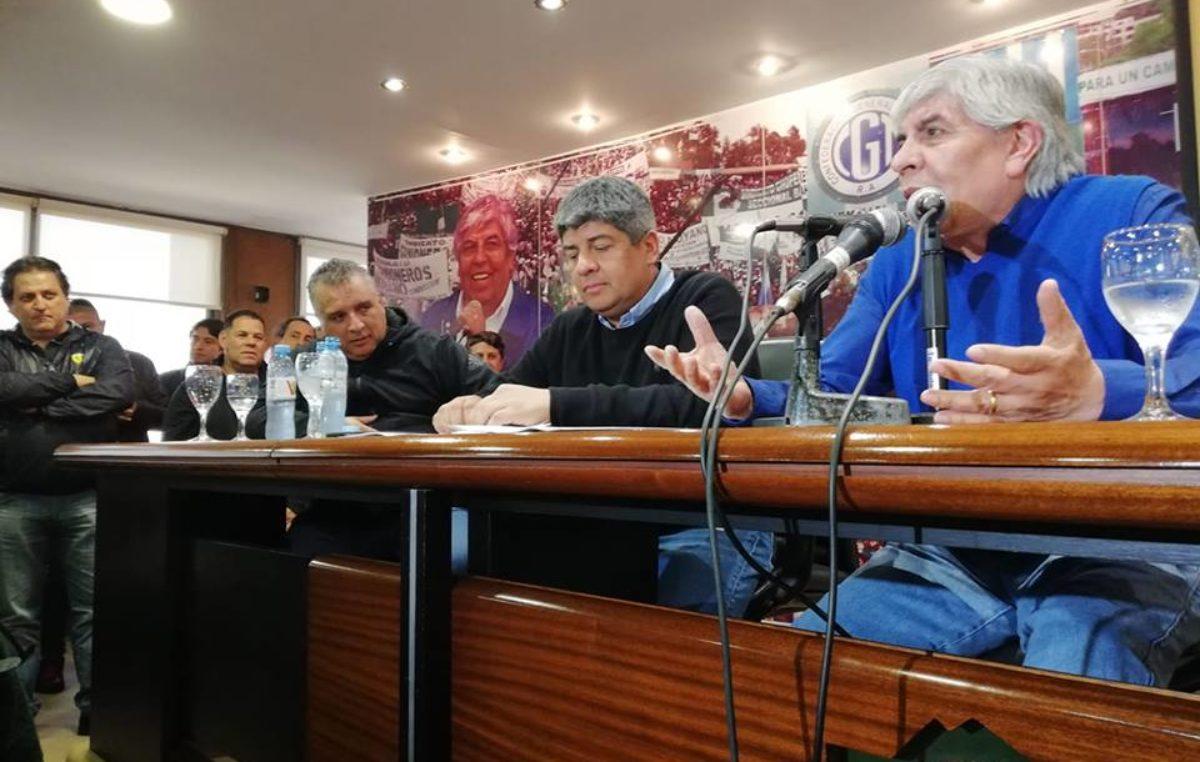 """Hugo Moyano tras el acuerdo paritario: """"Adherimos al paro como si fuera nuestro"""""""
