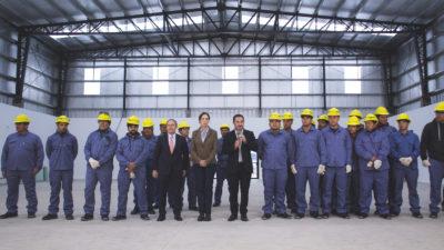 Con la mira puesta en el sistema carcelario, Vidal presentó una cárcel modelo en Campana
