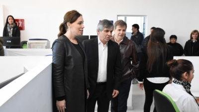 Vidal visitó Chivicloy en un gesto político para Britos