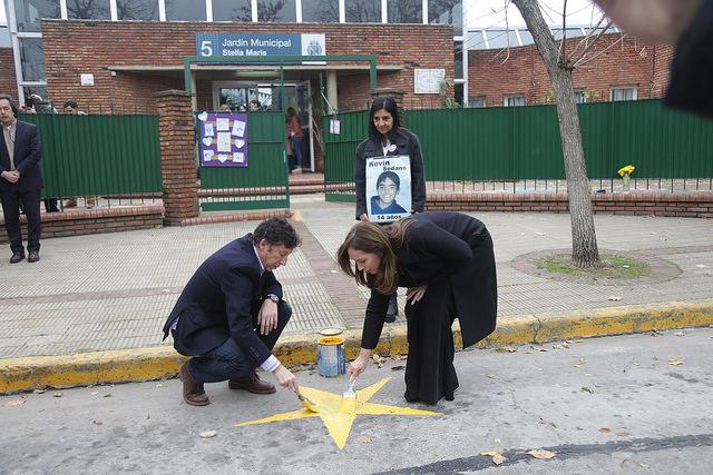 Vidal participó de una actividad de educación vial en San Isidro