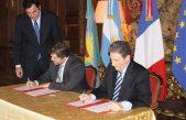 El OPDS firmó un convenio de cooperación con Francia antes de jugar los octavos de final de la Copa del Mundo ¡Inoportuno!