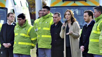 "El SAME ya llega a 56 municipios: ""Antes había muy pocas ambulancias"", aseguró Vidal"