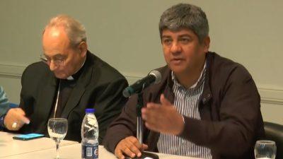 """Moyano contra las cerealeras y las mineras: """"depredan el medio ambiente a costa de los trabajadores"""""""