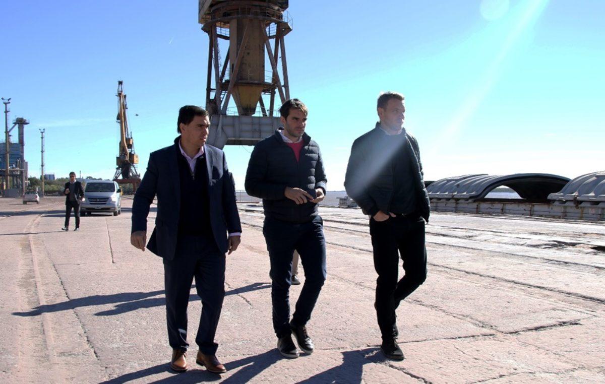 Se oficializó la creación del Consorcio de Gestión del Puerto de San Nicolás