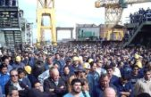 """Los trabajadores del Astillero Río Santiago denuncian """"aprietes"""" e """"intimidación"""" policial"""