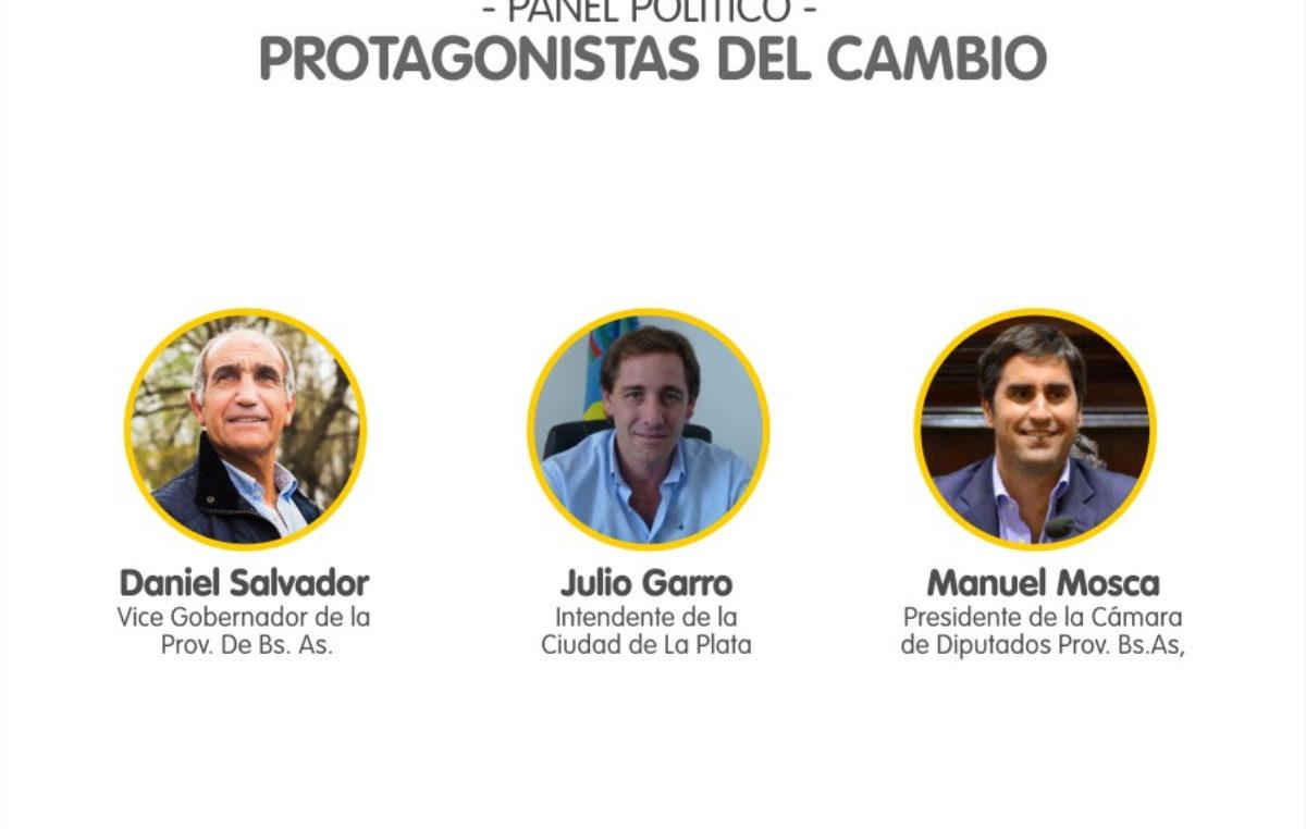Daniel Salvador, Julio Garro y Manuel Mosca presentan la escuela de dirigentes de Cambiemos en la Provincia de Buenos Aires