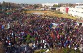 """Más de 15 mil personas participaron de un histórico """"abrazo"""" al Hospital El Cruce de Florencio Varela"""
