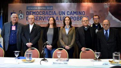 """Con duras críticas al gobierno concluyó la Semana Social en Mar del Plata: """"El ajuste no lo tienen que pagar los pobres"""", dijeron desde la Episcopal"""