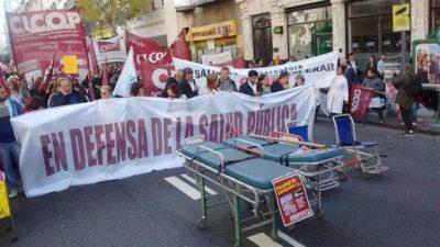 """Paro en los hospitales: """"La Provincia de Buenos Aires tiene el presupuesto en Salud más bajo del país"""""""