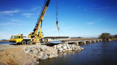 Arreglaron el puente ferroviario de Mechita y el oeste bonaerense sueña con la vuelta del tren