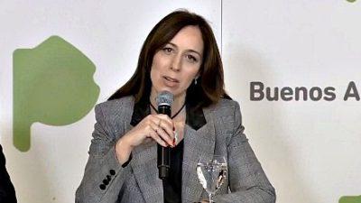 """""""Sabemos que estamos en un bache"""", dijo Vidal y anunció la reapertura de las paritarias con los estatales"""