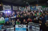 Saintout y Secco acompañaron los reclamos de los trabajadores del Astillero Río Santiago