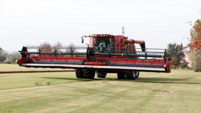 Case IH presenta su nueva serie de cosechadoras con el foco puesto en la alta productividad
