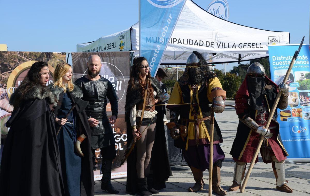 """Los """"Caminos del Tuyú"""" promocionaron sus propuestas para vacaciones de invierno en la capital provincial"""