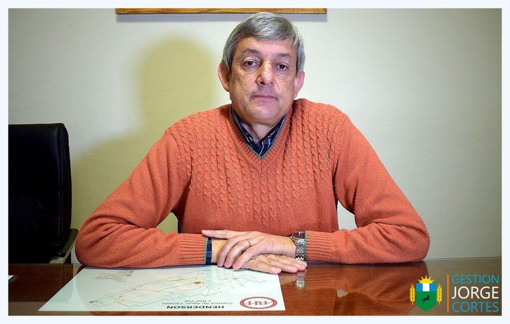 Jorge Cortés, intendente de Henderson