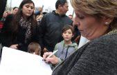Protesta en Villa Elisa contra el cierre de una escuela deportiva que funciona en la ex OFA