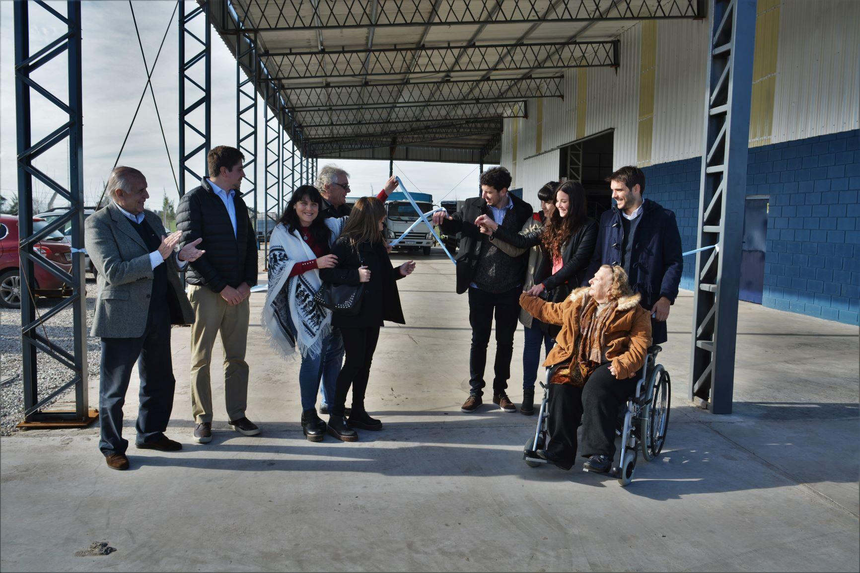 San Nicolás / Passaglia apuesta a multiplicar la matriz productiva e inauguró el parque industrial norte