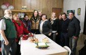 Vidal visitó a vecinos de San Miguel beneficiados por la obra hidráulica Los Berros