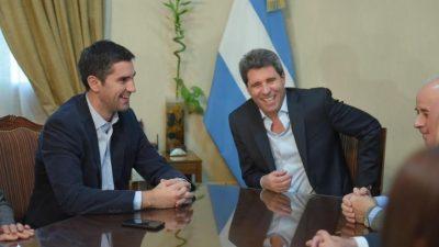 Manuel Mosca y Sergio Uñac almorzaron en San Juan con un gesto de cara al 2019