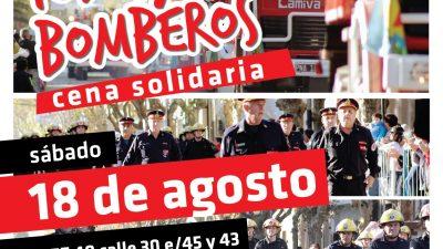 """Mercedes / Por la difícil situación que están pasando desde el municipio organizaron una cena solidaria """"Todos por Bomberos"""""""